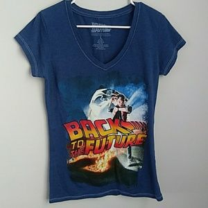BACK TO THE FUTURE GRAPHIC TEE  SIZE LARGE